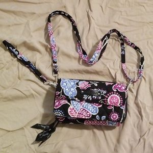 Vera Bradley All-in-One Crossbody Wristlet Wallet